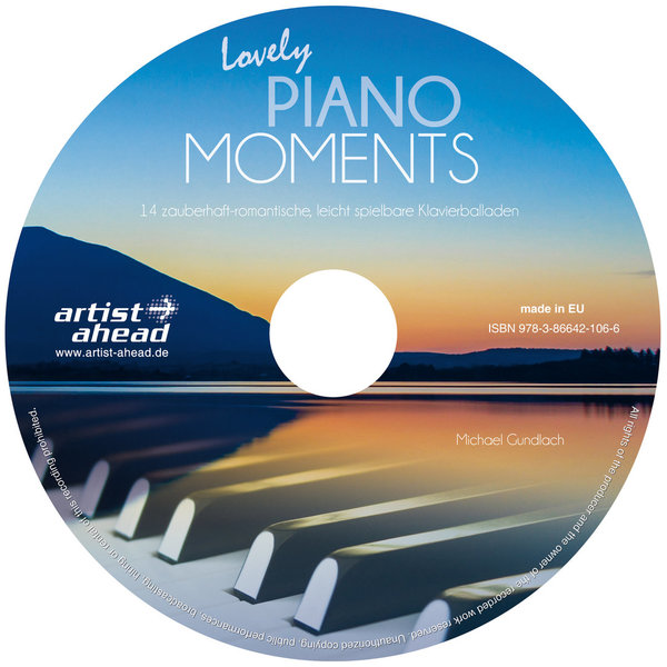 CD Lovely Piano Moments