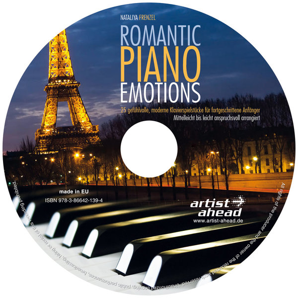 CD Romantic Piano Emotions