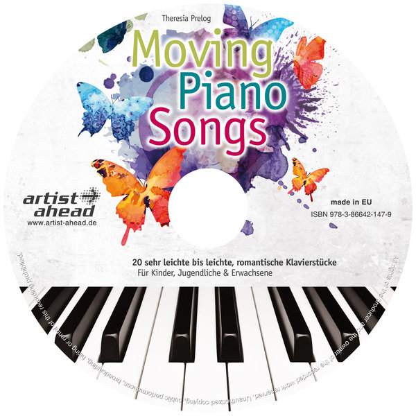 CD Moving Piano Songs