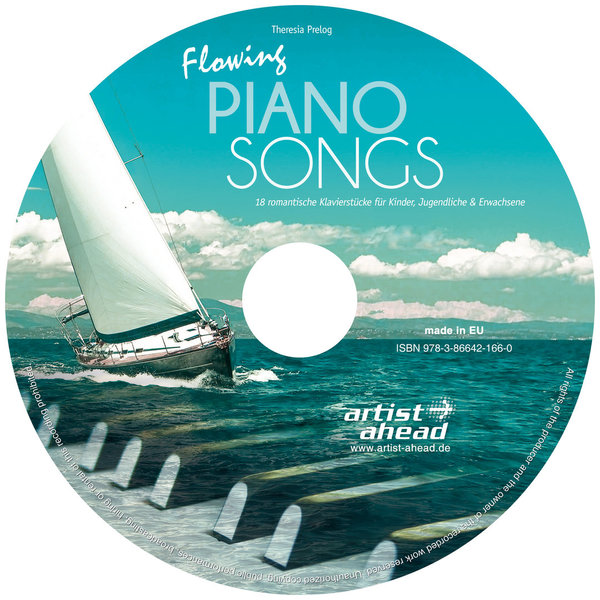 CD Flowing Piano Songs