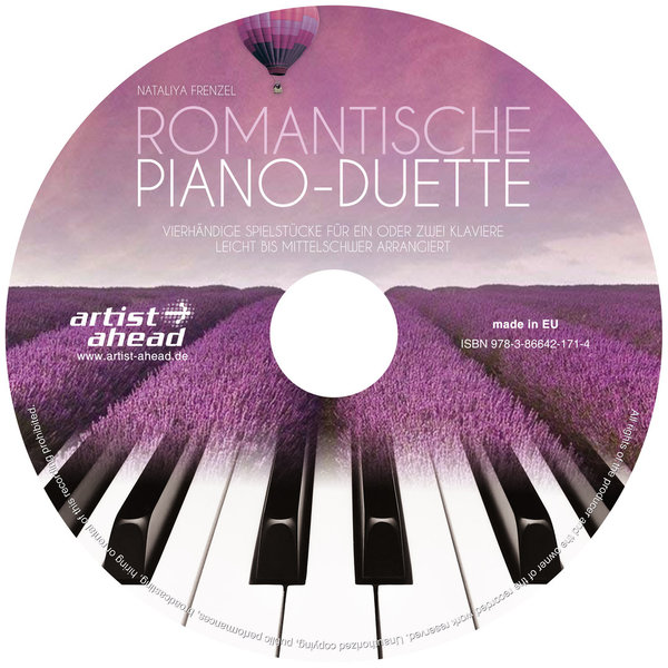CD Romantische Piano-Duette