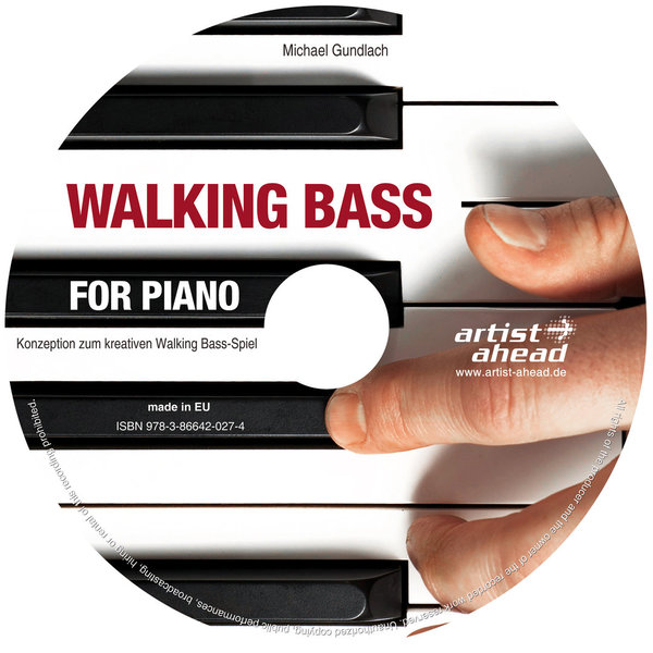 CD Walking Bass for Piano