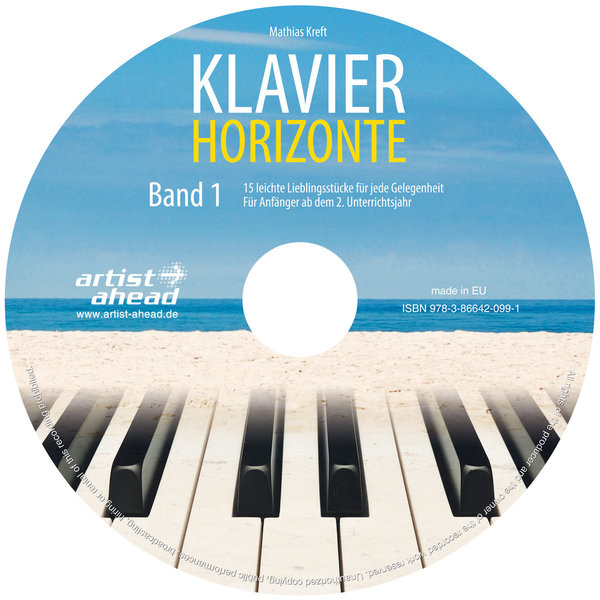 CD Klavier-Horizonte - Band 1