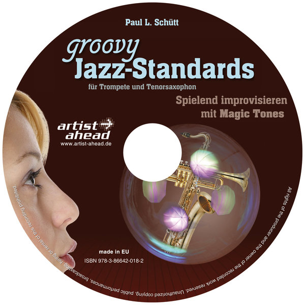 CD Groovy Jazz-Standards - für Trompete & Tenorsax
