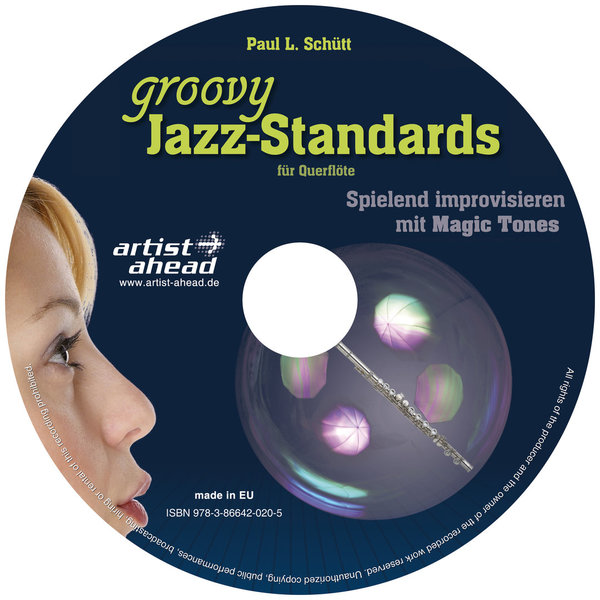 CD Groovy Jazz-Standards - für Querflöte