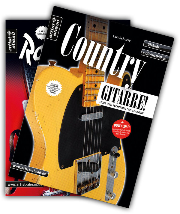 Country- & Rockabilly-Gitarre im Set!