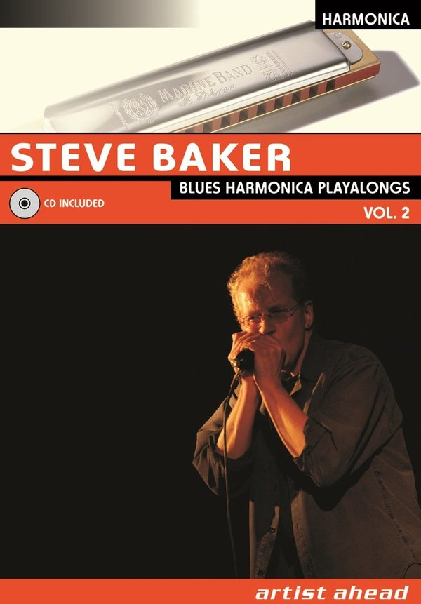 Blues Harmonica Playalongs - Vol. 2 (English edition)